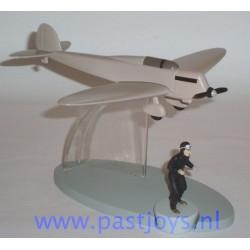 The Beige Heinkel HE-70 Plane