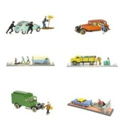 6x Auto's transport