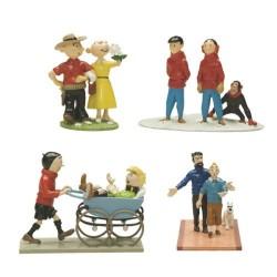 De Popol & Virginie à Tintin Pixi 4 scenes