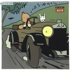 Tintin calendar 2018