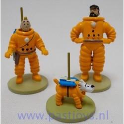 Kuifje, Haddock en Bobbie Cosmonaut