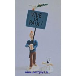 Kuifje en Bobbie - Vive la Paix