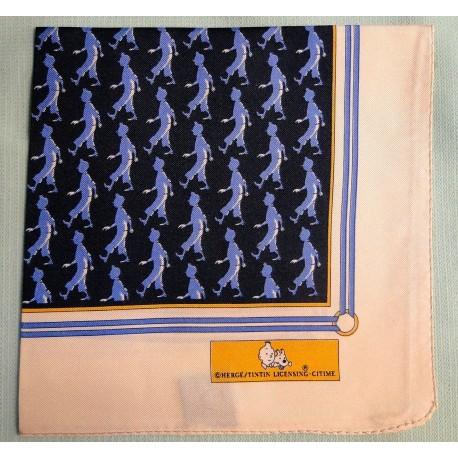 Pochettes Tintin donkerblauw lichtblauw