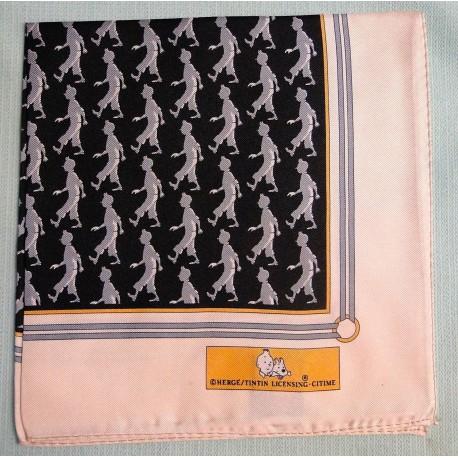 Pochettes Tintin zwart grijs