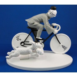 Kuifje op de fiets