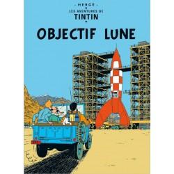 """Poster Cover: """"Raket naar de maan"""""""