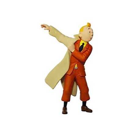 PVC Tintin with jacket 8,3 cm