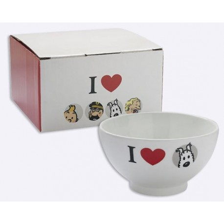 Bowl - I Love Milou