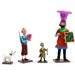 Tintin demande le Permis de Chasse