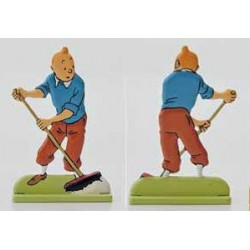 Tintin au Balai