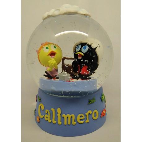 Calimero grote sneeuwbol