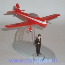 Avion Rouge de L'Ile Noire et Dupont figure