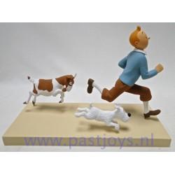 Tintin et la chèvre FARIBOLES