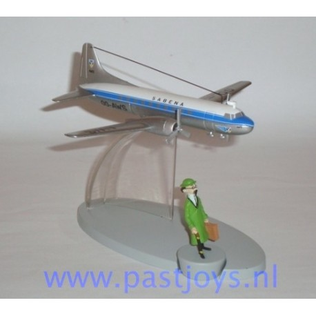 Sabena Flight met Zonnebloem