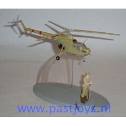 Helikopter van het leger van San Theodoros