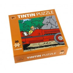 Puzzel Kuifje in de Amilcar