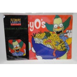 Krusty set placemat