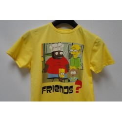 T-shirt Bart Simpson Geel