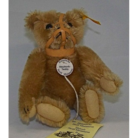 Steiff Muilkorf Teddy