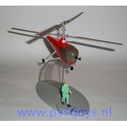 De helikopter BH15 van het Base Sbrodj