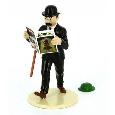 Dupond + Le Chapeau de Tournesol - Collection Lisez Tintin