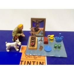 Tintin Milou marche aux puces