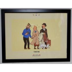 Kuifje poster de schat van Scharlaken Rackham