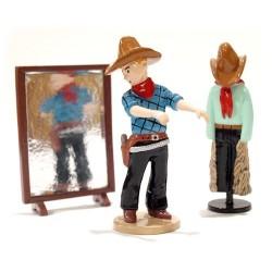 Kuifje cowboy kleding passen