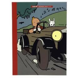 Small Tintin diary 2018