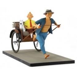 Fariboles Tintin & Snowy Rickshaw