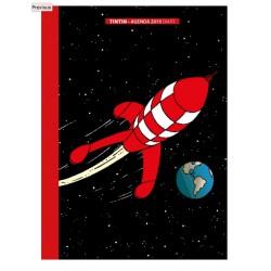 2019 Office diary agenda Tintin The Moon