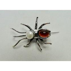 Oorbellen Bruno da Rocha spin rood