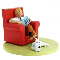 TINTIN AND SNOWY AT HOME