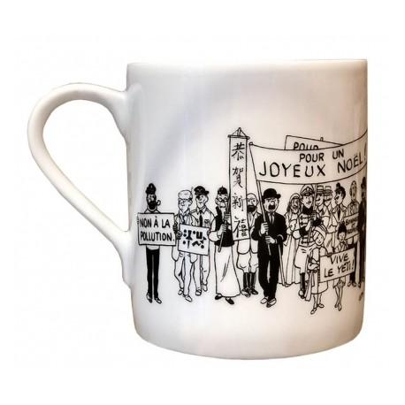 TINTIN: LA CARTE DE VOEUX 1972 - mug