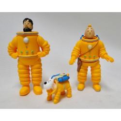 Tintin/Haddock/Milou Lunar suit