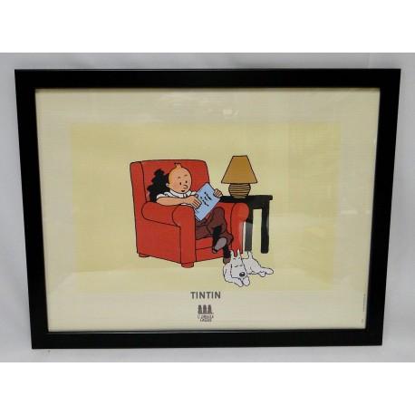 Kuifje in de rode stoel poster