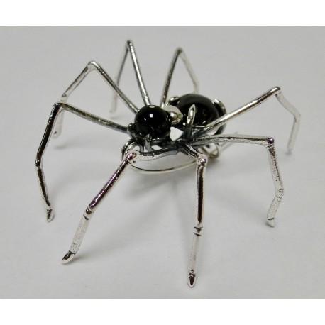 Broche Bruno da Rocha spin zwart