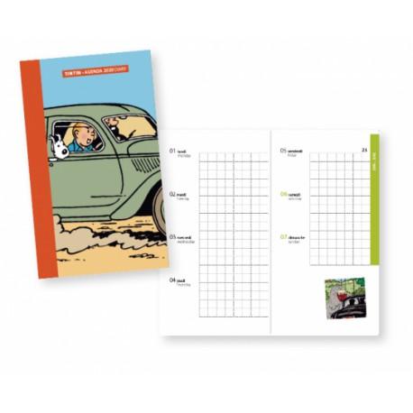 2020 Pocket diary Tintin