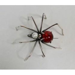 Broche Bruno da Rocha spin rood lijf