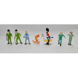 Tintin Collection moon (7 figures)