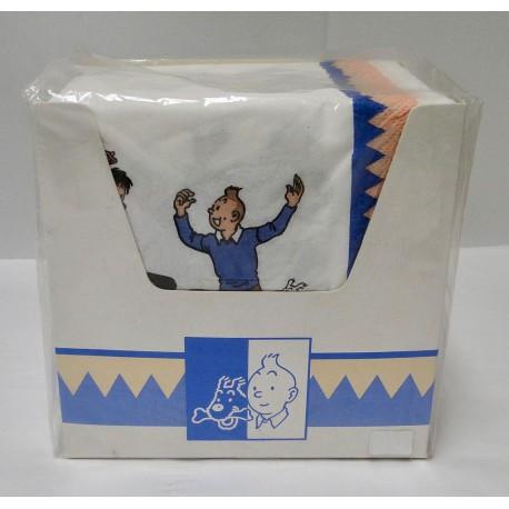 Kuifje doos servetten 100 stuks