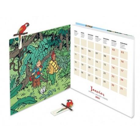 Kuifje tafelkalender