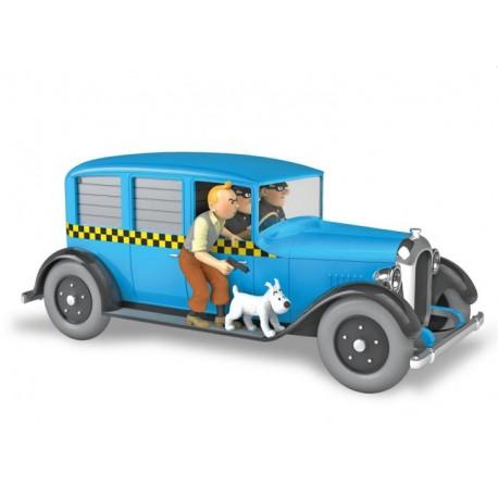Tintin, the Chicago Taxi Checker 1929