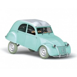 Tintin, the Thomson and Thompson Citroën 2CV 1:24