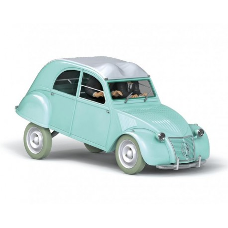 Tintin, the Thomson and Thompson Citroën 2CV 1:24