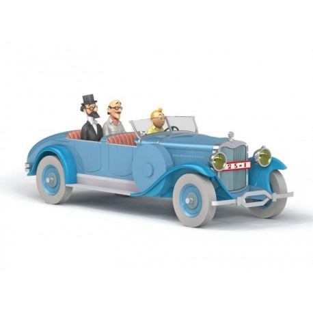 Tintin, the Doctor Finney Lincoln Torpedo 1:24