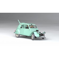 Kuifje, the Citroen 2CV 1:24
