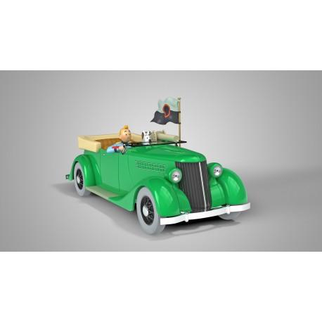 Tintin, The machine-gun mounted Ford 1:24
