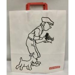 papieren Kuifje/Bobbie Tintin reporter fotograaf tas Moulinsart