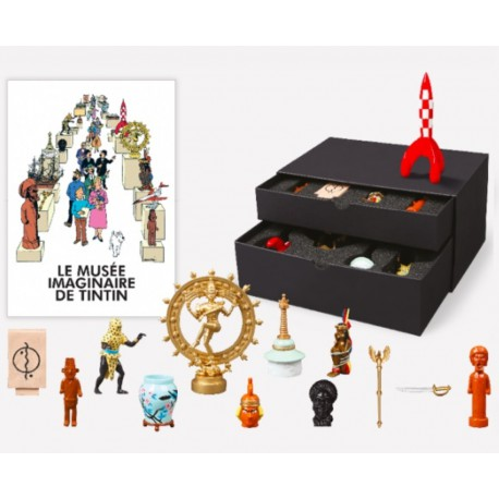 Box set 13 Tintin fig. Imaginary Museum collection